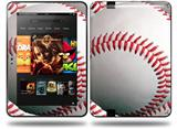 Baseball Decal Style Skin fits Amazon Kindle Fire HD 8.9 inch