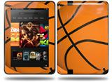 Basketball Decal Style Skin fits Amazon Kindle Fire HD 8.9 inch