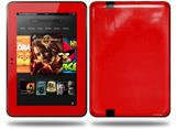 Solids Collection Red Decal Style Skin fits Amazon Kindle Fire HD 8.9 inch