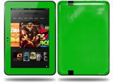 Solids Collection Green Decal Style Skin fits Amazon Kindle Fire HD 8.9 inch