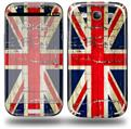 Painted Faded and Cracked Union Jack British Flag - Decal Style Skin (fits Samsung Galaxy S III S3)