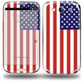 USA American Flag 01 - Decal Style Skin (fits Samsung Galaxy S III S3)