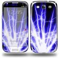 Lightning Blue - Decal Style Skin (fits Samsung Galaxy S III S3)