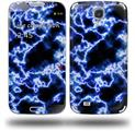 Electrify Blue - Decal Style Skin (fits Samsung Galaxy S IV S4)