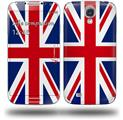 Union Jack 02 - Decal Style Skin (fits Samsung Galaxy S IV S4)