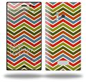Zig Zag Colors 01 - Decal Style Skin (fits Nokia Lumia 928)