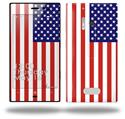 USA American Flag 01 - Decal Style Skin (fits Nokia Lumia 928)