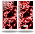 Electrify Red - Decal Style Skin (fits Nokia Lumia 928)