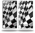 Checkered Racing Flag - Decal Style Skin (fits Nokia Lumia 928)