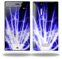 Lightning Blue - Decal Style Skin (fits Nokia Lumia 928)