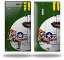 WWII Bomber War Plane Pin Up Girl - Decal Style Skin (fits Nokia Lumia 928)