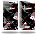Abstract 02 Red - Decal Style Skin (fits Nokia Lumia 928)