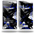 Abstract 02 Blue - Decal Style Skin (fits Nokia Lumia 928)
