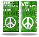 Love and Peace Green - Decal Style Skin (fits Nokia Lumia 928)