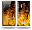 Open Fire - Decal Style Skin (fits Nokia Lumia 928)