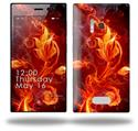 Fire Flower - Decal Style Skin (fits Nokia Lumia 928)