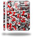 Sexy Girl Silhouette Camo Red - Decal Style Vinyl Skin (compatible with Apple Original iPhone 5, NOT the iPhone 5C or 5S)