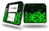 HEX Green - Decal Style Vinyl Skin fits Nintendo 2DS - 2DS NOT INCLUDED