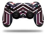 Vinyl Skin Wrap for Sony PS4 Dualshock Controller Zig Zag Colors 02 (CONTROLLER NOT INCLUDED)