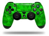 WraptorSkinz Skin compatible with Sony PS4 Dualshock Controller PlayStation 4 Original Slim and Pro Triangle Mosaic Green (CONTROLLER NOT INCLUDED)