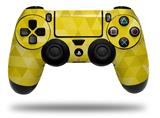 WraptorSkinz Skin compatible with Sony PS4 Dualshock Controller PlayStation 4 Original Slim and Pro Triangle Mosaic Yellow (CONTROLLER NOT INCLUDED)