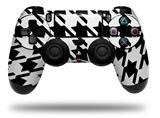 Vinyl Decal Skin Wrap compatible with Sony PlayStation 4 Dualshock Controller Houndstooth Black (PS4 CONTROLLER NOT INCLUDED)