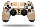 Vinyl Decal Skin Wrap compatible with Sony PlayStation 4 Dualshock Controller Squared Peach (PS4 CONTROLLER NOT INCLUDED)