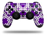 Vinyl Decal Skin Wrap compatible with Sony PlayStation 4 Dualshock Controller Boxed Purple (PS4 CONTROLLER NOT INCLUDED)