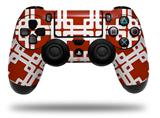 Vinyl Decal Skin Wrap compatible with Sony PlayStation 4 Dualshock Controller Boxed Red Dark (PS4 CONTROLLER NOT INCLUDED)