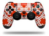 Vinyl Decal Skin Wrap compatible with Sony PlayStation 4 Dualshock Controller Boxed Red (PS4 CONTROLLER NOT INCLUDED)