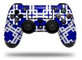 WraptorSkinz Skin compatible with Sony PS4 Dualshock Controller PlayStation 4 Original Slim and Pro Boxed Royal Blue (CONTROLLER NOT INCLUDED)
