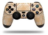 WraptorSkinz Skin compatible with Sony PS4 Dualshock Controller PlayStation 4 Original Slim and Pro Wavey Peach (CONTROLLER NOT INCLUDED)