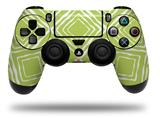 Vinyl Skin Wrap for Sony PS4 Dualshock Controller Wavey Sage Green (CONTROLLER NOT INCLUDED)