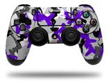 Vinyl Decal Skin Wrap compatible with Sony PlayStation 4 Dualshock Controller Sexy Girl Silhouette Camo Purple (PS4 CONTROLLER NOT INCLUDED)