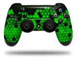 Vinyl Decal Skin Wrap compatible with Sony PlayStation 4 Dualshock Controller HEX Green (PS4 CONTROLLER NOT INCLUDED)
