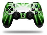 WraptorSkinz Skin compatible with Sony PS4 Dualshock Controller PlayStation 4 Original Slim and Pro Lightning Green (CONTROLLER NOT INCLUDED)