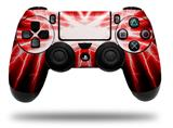 Vinyl Decal Skin Wrap compatible with Sony PlayStation 4 Dualshock Controller Lightning Red (PS4 CONTROLLER NOT INCLUDED)