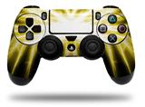 Vinyl Decal Skin Wrap compatible with Sony PlayStation 4 Dualshock Controller Lightning Yellow (PS4 CONTROLLER NOT INCLUDED)