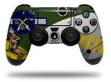Skin Wrap for Sony PS4 Dualshock Controller WWII Bomber War Plane Pin Up Girl (CONTROLLER NOT INCLUDED)