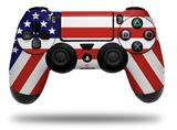 Vinyl Decal Skin Wrap compatible with Sony PlayStation 4 Dualshock Controller USA American Flag 01 (PS4 CONTROLLER NOT INCLUDED)