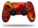 Skin Wrap for Sony PS4 Dualshock Controller Fire Flower (CONTROLLER NOT INCLUDED)