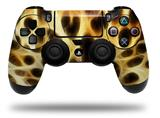 Vinyl Decal Skin Wrap compatible with Sony PlayStation 4 Dualshock Controller Fractal Fur Leopard (PS4 CONTROLLER NOT INCLUDED)