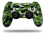 WraptorSkinz Skin compatible with Sony PS4 Dualshock Controller PlayStation 4 Original Slim and Pro WraptorCamo Digital Camo Green (CONTROLLER NOT INCLUDED)