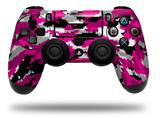 Vinyl Decal Skin Wrap compatible with Sony PlayStation 4 Dualshock Controller WraptorCamo Digital Camo Hot Pink (PS4 CONTROLLER NOT INCLUDED)