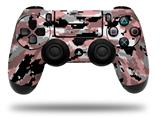 Vinyl Decal Skin Wrap compatible with Sony PlayStation 4 Dualshock Controller WraptorCamo Digital Camo Pink (PS4 CONTROLLER NOT INCLUDED)
