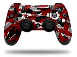 Vinyl Decal Skin Wrap compatible with Sony PlayStation 4 Dualshock Controller WraptorCamo Digital Camo Red (PS4 CONTROLLER NOT INCLUDED)
