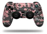 Vinyl Skin Wrap for Sony PS4 Dualshock Controller WraptorCamo Old School Camouflage Camo Pink (CONTROLLER NOT INCLUDED)