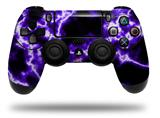Vinyl Decal Skin Wrap compatible with Sony PlayStation 4 Dualshock Controller Electrify Purple (PS4 CONTROLLER NOT INCLUDED)