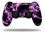 Vinyl Decal Skin Wrap compatible with Sony PlayStation 4 Dualshock Controller Electrify Hot Pink (PS4 CONTROLLER NOT INCLUDED)