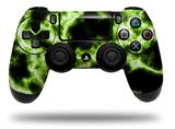 WraptorSkinz Skin compatible with Sony PS4 Dualshock Controller PlayStation 4 Original Slim and Pro Electrify Green (CONTROLLER NOT INCLUDED)